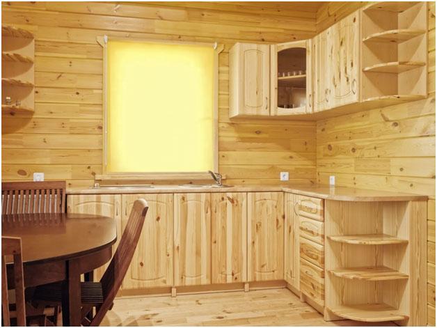 Кухонный гарнитур из мебельных щитов своими руками 51