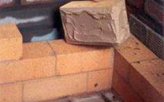 Раствор для кладки печи из кирпича:  пропорции и особенности приготовления