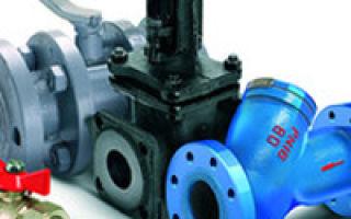 Запорная трубопроводная арматура: виды и применение