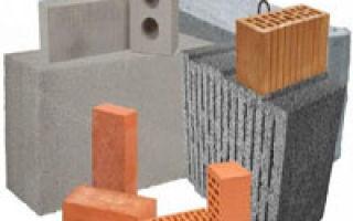Строительные блоки, какие лучше