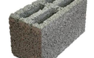Керамзитобетонные блоки. Вес материала