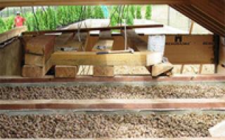 Способы и нюансы утепления межэтажного перекрытия по деревянным балкам