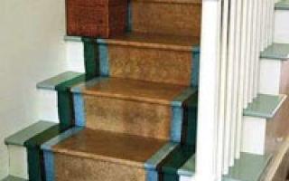Выбор краски для лестницы на второй этаж с учетом особенностей процесса окрашивания
