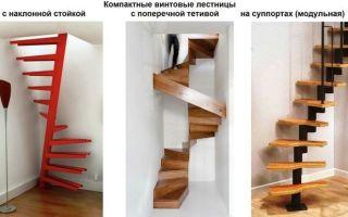 Особенности и виды компактных лестниц на второй этаж