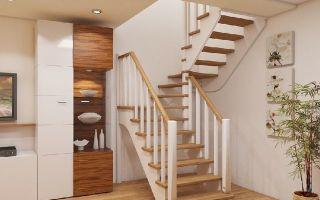 Проекты лестницы на второй этаж в частном доме: сделаем своими руками