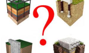 Выбираем тип фундамента для жилого дома со стенами из пеноблоков