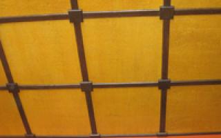 Потолок из фанеры: описание, преимущества, технология монтажа