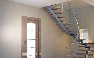 Лестницы на второй этаж на металлическом каркасе: делаем своими руками