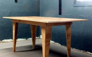 Стол из фанеры: преимущества, виды, изготовление