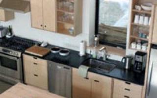 Кухня проста – из фанерного листа! Как сделать мебель своими руками