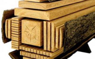 Виды пиломатериалов и их классификация