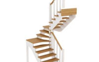 Что нужно знать, чтобы построить двухмаршевую лестницу своими руками