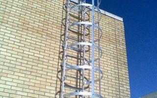 Лестница на крышу: как обустроить самостоятельно?