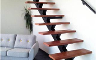 Разновидности лестниц из профильной трубы: преимущества и технология сборки
