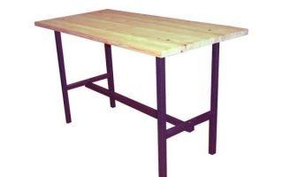 Как сделать стол и стул из профильной трубы