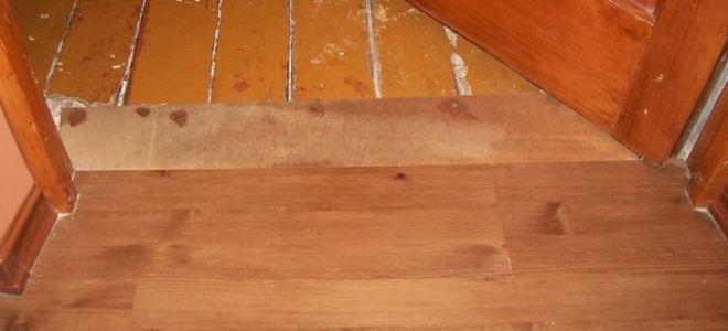 Выравнивание деревянных полов своими силами