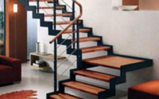 Красивые лестницы в интерьере: многообразие вариантов