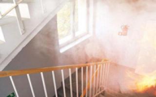 Незадымляемая лестница: путь к спасению при пожаре