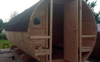 Быстрый и дешевый способ построить баню на участке