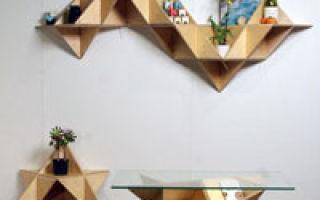 Мебель из фанеры: быстро, стильно, качественно
