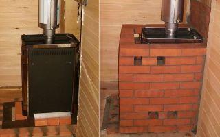 Обкладывание печи в бане кирпичом: выбор материала и технология кладки