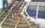 Монолитная входная лестница из армированного бетона своими руками пошагово