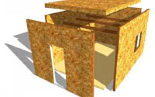 Дом из фанеры — оптимальное соотношение цены и качества