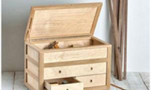 Как сделать ящик из фанеры своими руками