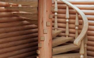Преимущества, особенности и технология изготовления лестницы из бревна