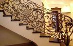 Как обустроить кованые лестницы на второй этаж