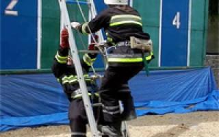 Ручные пожарные лестницы: виды и правила эксплуатации