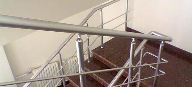 Высота перил лестницы согласно существующим стандартам