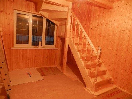 Компактная деревянная опора