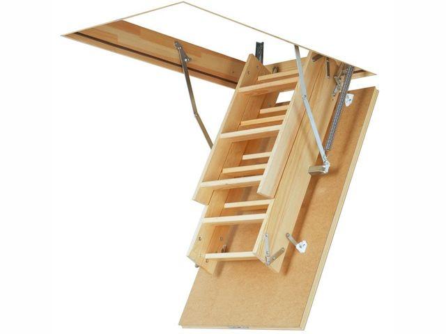 Компактность – одно из наиболее ценимых качеств лестниц Fakro