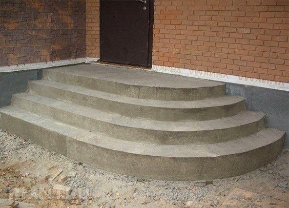 Лестница, готовая для отделки