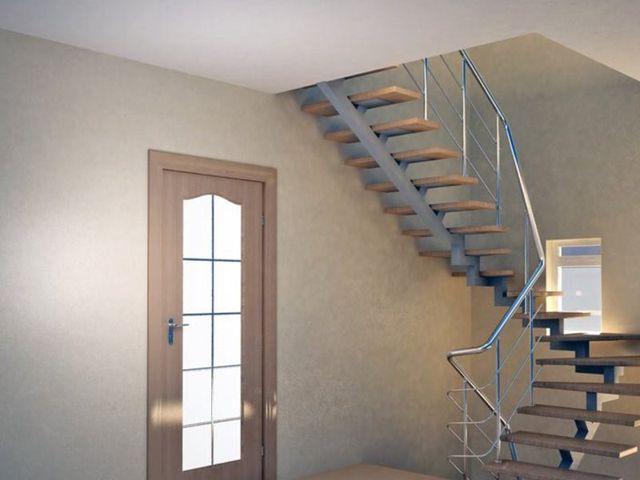 Металлическая лестница: сама элегантность