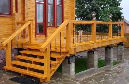 Надёжная деревянная конструкция