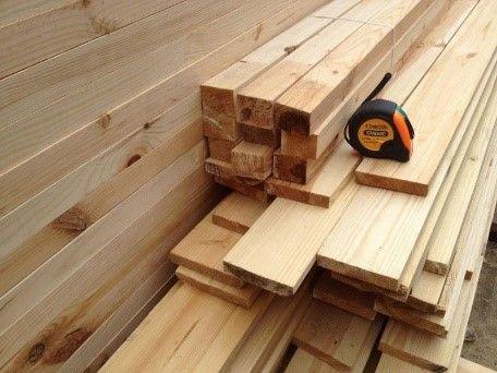 Пример деревянной вагонки