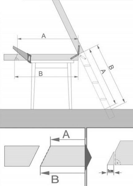 Схема регулировки по высоте
