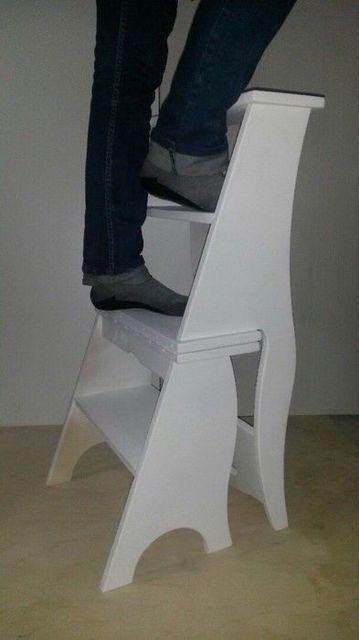Трансформирующийся стул-стремянка