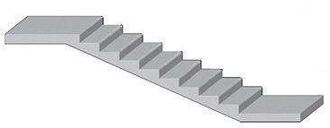 Железобетонная сборная лестница.