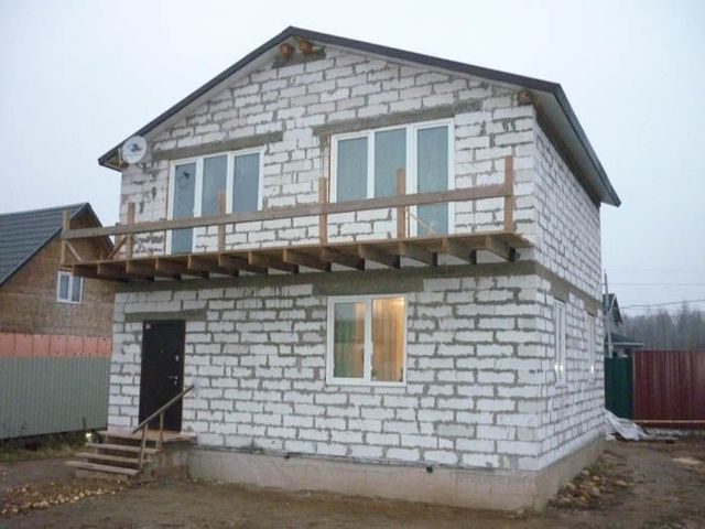 Дом из ячеистых бетонов