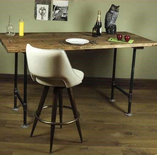 Элегантный стол в деревенском стиле