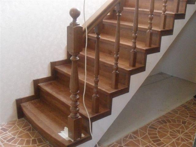 Перила делают «лицо» лестницы