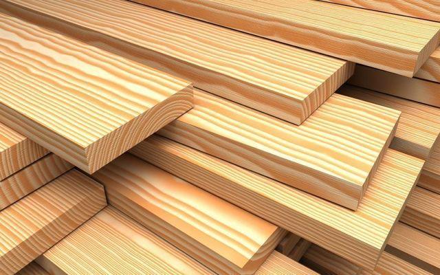 Пиломатериалы из хвойной древесины