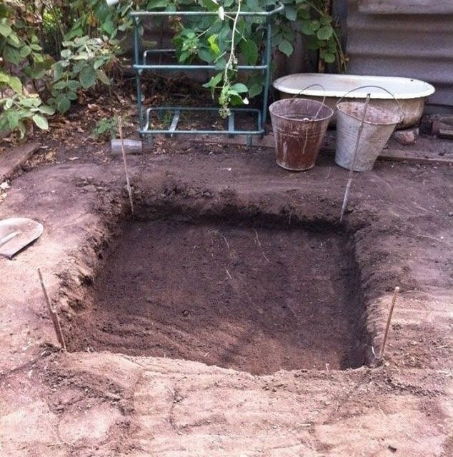Подготовка участка под фундамент