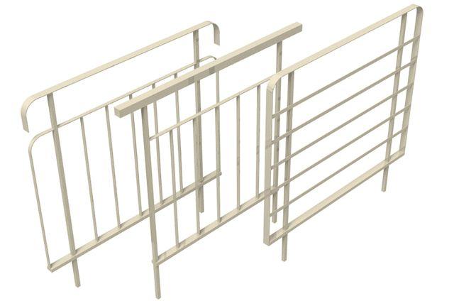 Ограждения для металлических конструкций