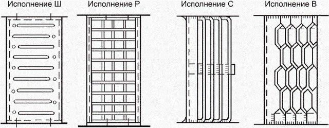 Разновидности допустимых ГОСТ площадок для маршевых лестниц