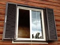 Дерево-алюминиевое окно